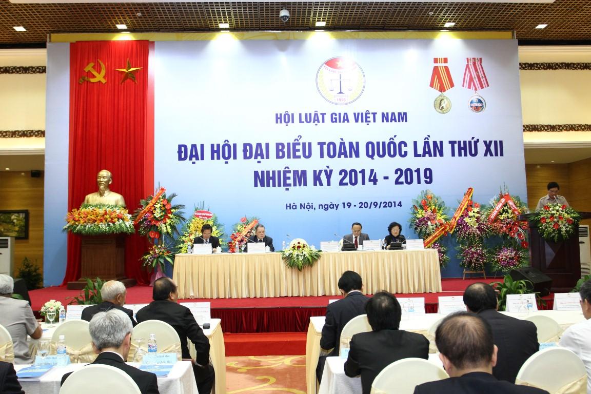 Đại hội đại biểu toàn quốc lần thứ XII Hội Luật gia Việt Nam thành công tốt đẹp