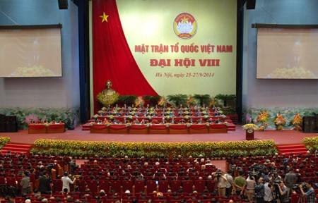 Khai mạc Đại hội đại biểu Mặt trận Tổ quốc Việt Nam lần thứ VIII