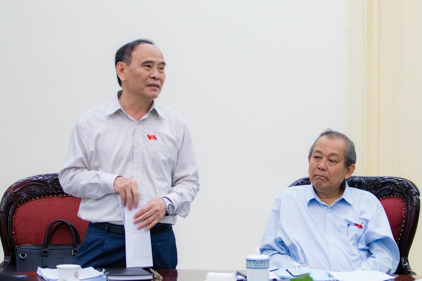 Phó Thủ tướng Thường trực Trương Hòa Bình làm việc với Hội Luật gia Việt Nam về công tác chuẩn bị tổ chức Đại hội đại biểu toàn quốc lần thứ XIII (2019-2024) - Ảnh 1