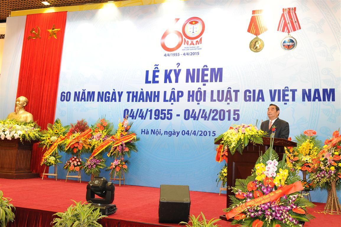 Hội Luật gia Việt Nam 60 năm xây dựng và phát triển
