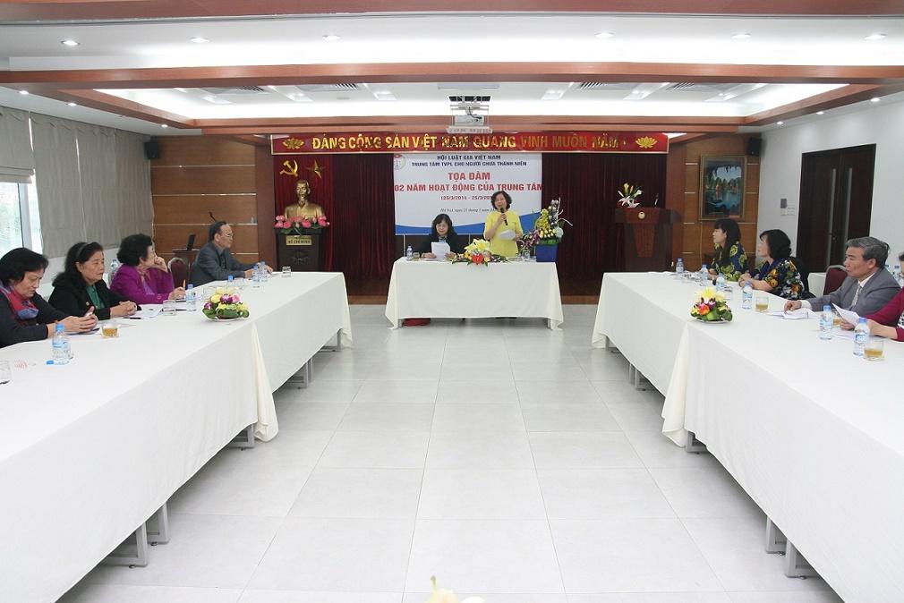 Tọa đàm 02 năm thành lập  Trung tâm tư vấn pháp luật cho người chưa thành niên