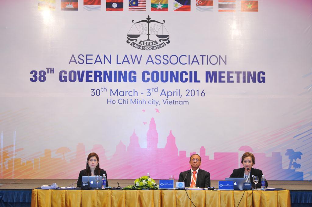 Hội nghị Hội đồng điều hành lần thứ 38 hiệp hội luật các quốc gia Đông Nam Á ASEAN