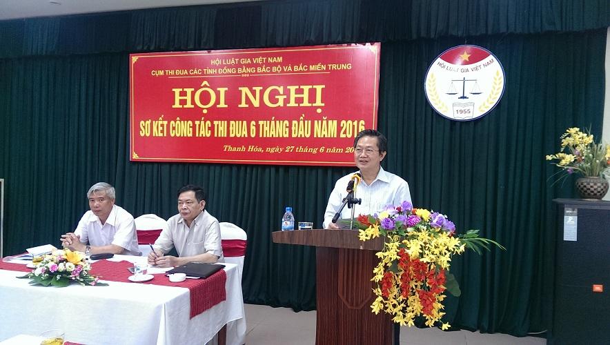 Cụm thi đua các tỉnh Đồng bằng Bắc bộ và Bắc miền Trung  sơ kết công tác 6 tháng đầu năm 2016