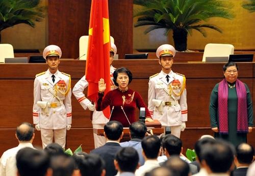 Tại kỳ họp thứ nhất, Quốc hộ khóa XIV