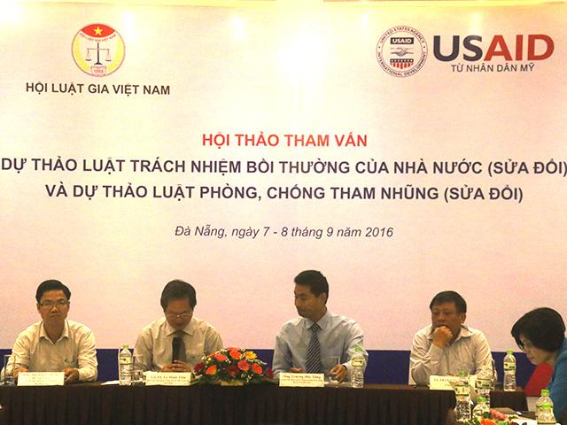 Hội Luật gia Việt Nam tạo diễn đàn góp ý đối với hai dự thảo Luật