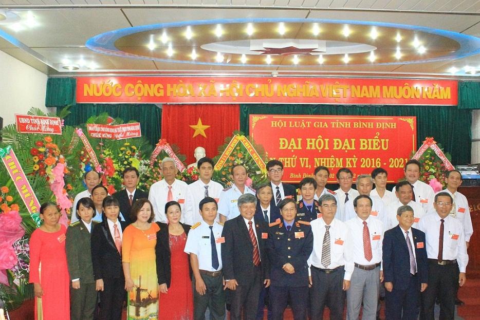 Đại hội Hội Luật gia tỉnh Bình Định lần thứ 6, nhiệm kỳ 2016-2021