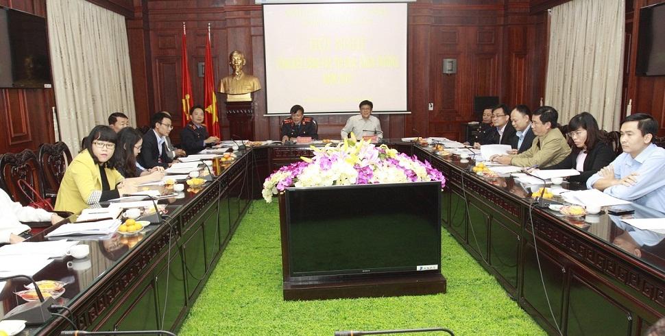 Cụm thi đua số 6, Hội Luật gia Việt Nam tổng kết thi đua, khen thưởng năm 2016: Đổi mới nội dung, phương thức, thực hiện nhiệm vụ trọng tâm.