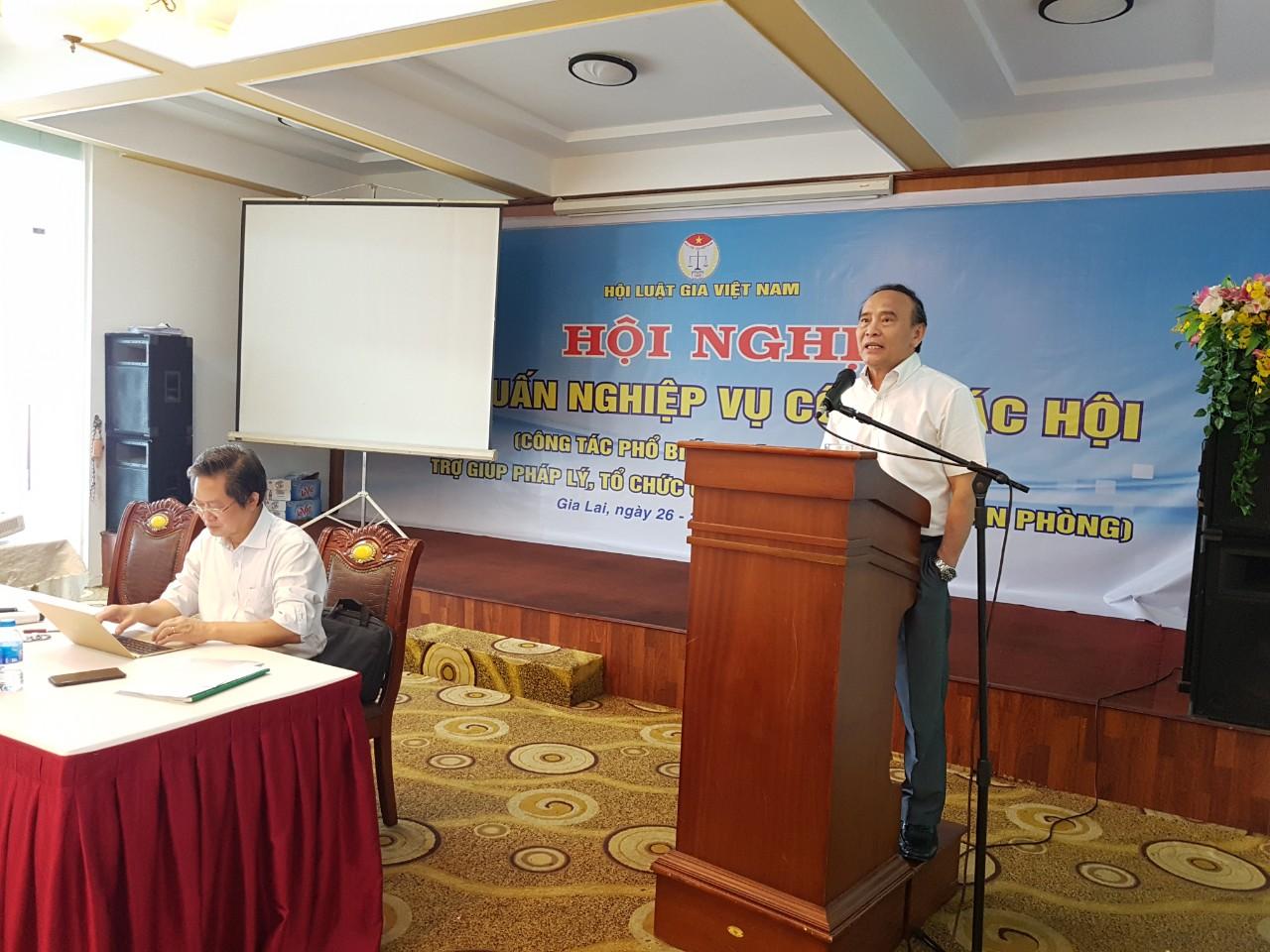 Tiếp tục tập huấn nghiệp vụ công tác hội cho các tỉnh, thành Hội khu vực duyên hải miền Trung và Tây Nguyên
