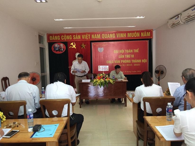 Chi hội Luật gia Văn phòng Hội Luật gia TP. Đà Nẵng tổ chức đại hội lần thứ VI, nhiệm kỳ 2018 - 2023