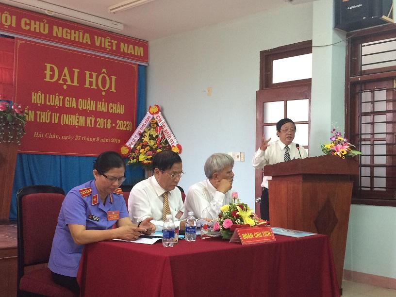 Hội Luật gia quận Hải Châu, thành phố Đà Nẵng: Nâng cao ý thức và hiểu biết pháp luật trong các tầng lớp Nhân dân.