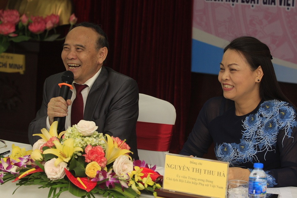 Ký kết chương trình phối hợp công tác giữa Hội Luật gia Việt Nam và Hội Liên hiệp Phụ nữ Việt Nam giai đoạn 2018 - 2022