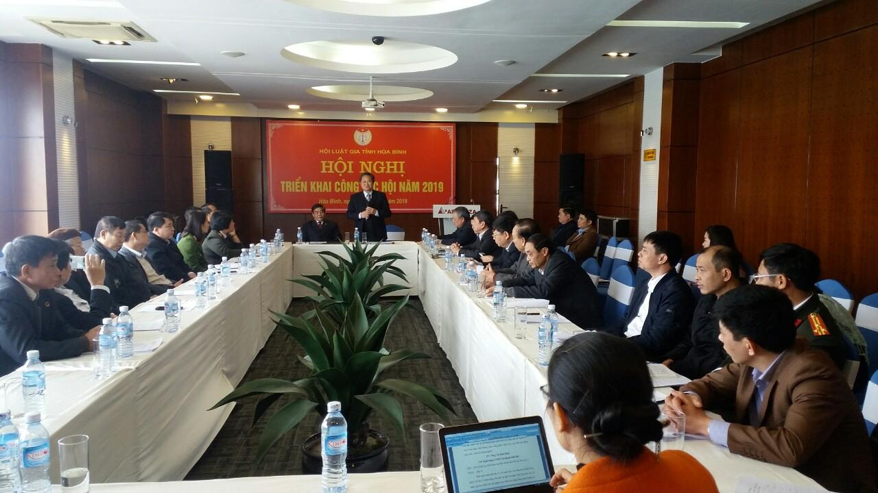 Hội Luật gia tỉnh Hòa Bình củng cố, phát triển tổ chức và đổi mới hoạt động Hội