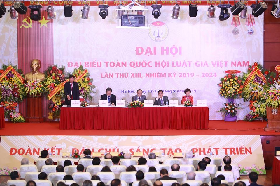 Đại hội đại biểu toàn quốc Hội Luật gia Việt Nam lần thứ XIII, nhiệm kỳ 2019 - 2024