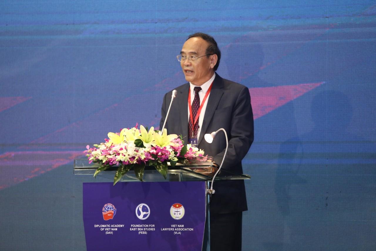 """Hội thảo khoa học quốc tế về Biển Đông lần thứ 11 """"Hợp tác vì hòa bình và phát triển tại khu vực"""""""