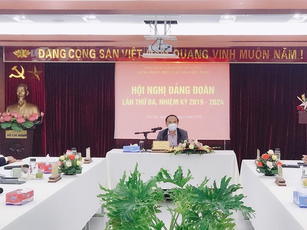 Hội nghị Đảng đoàn lần thứ ba, khóa XIII