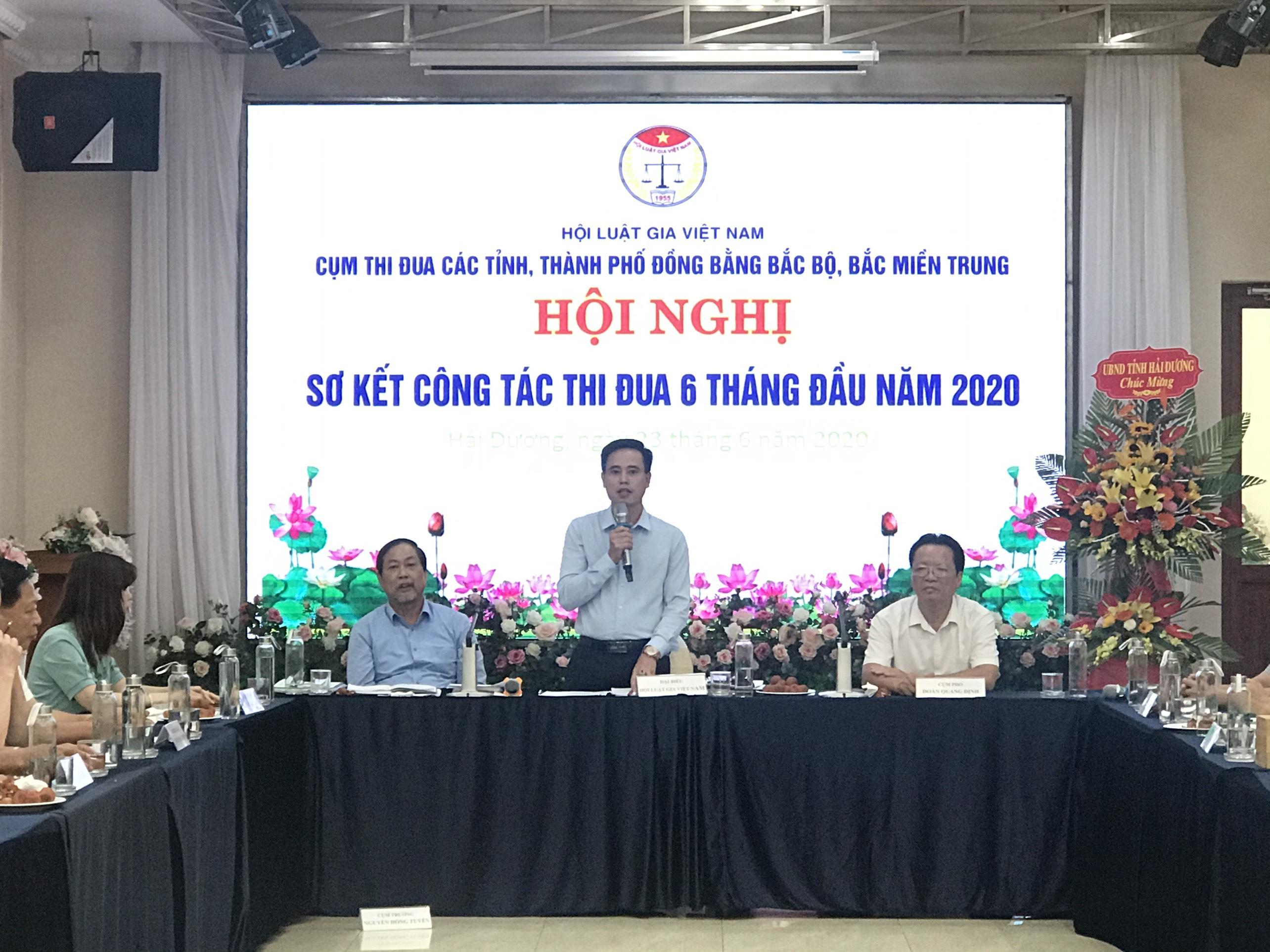 Hội nghị sơ kết Cụm thi đua các tỉnh đồng bằng Bắc Bộ và Bắc Miền Trung