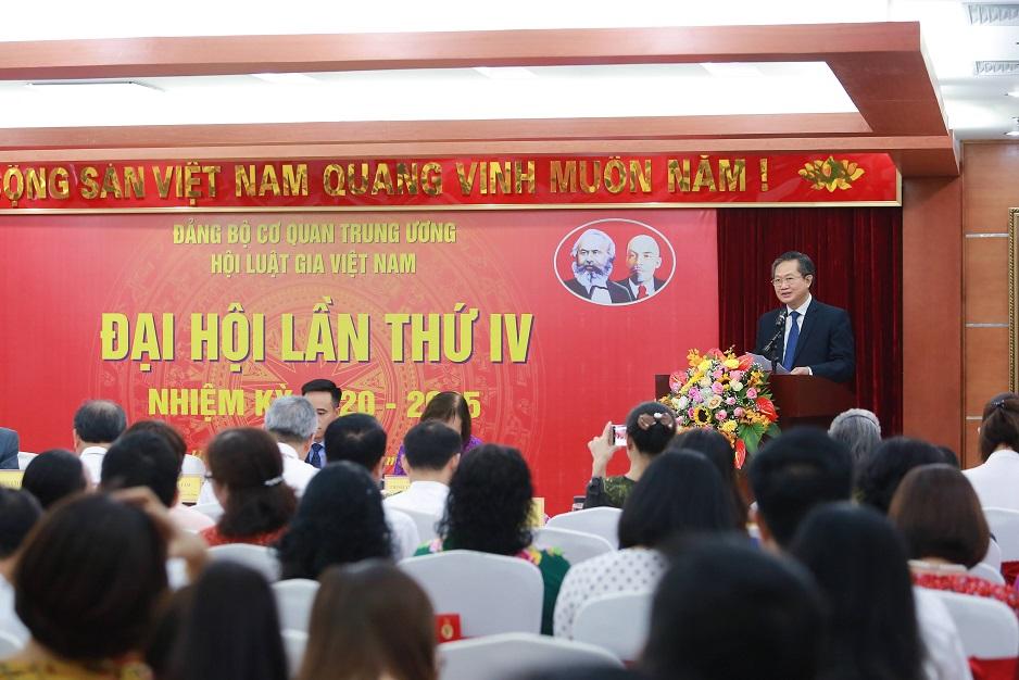 Đại hội lần thứ IV, Đảng bộ cơ quan Trung ương Hội Luật gia Việt Nam
