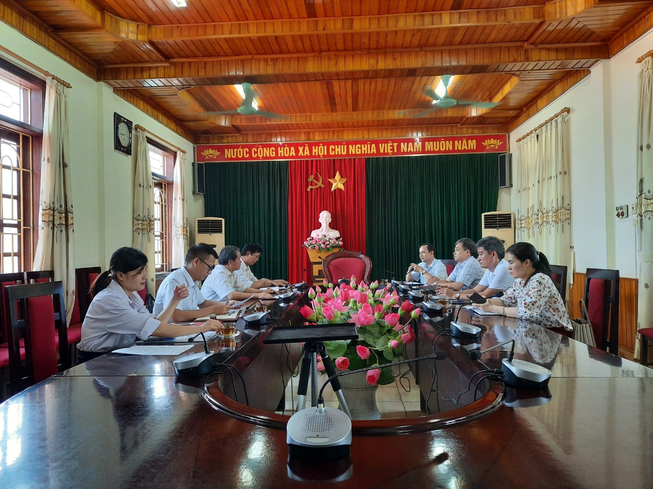Kiểm tra công tác tại Hội Luật gia thành phố Sầm Sơn