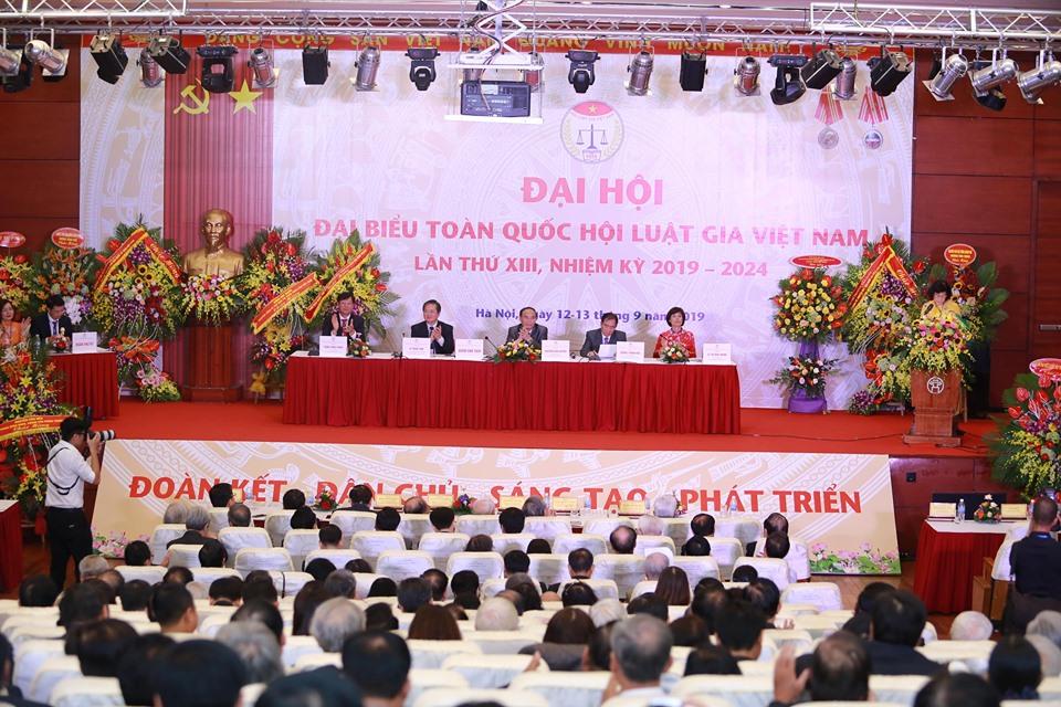 Đại hội đại biểu toàn quốc Hội Luật gia Việt Nam lần thứ XIII, nhiệm kỳ 2019 2024